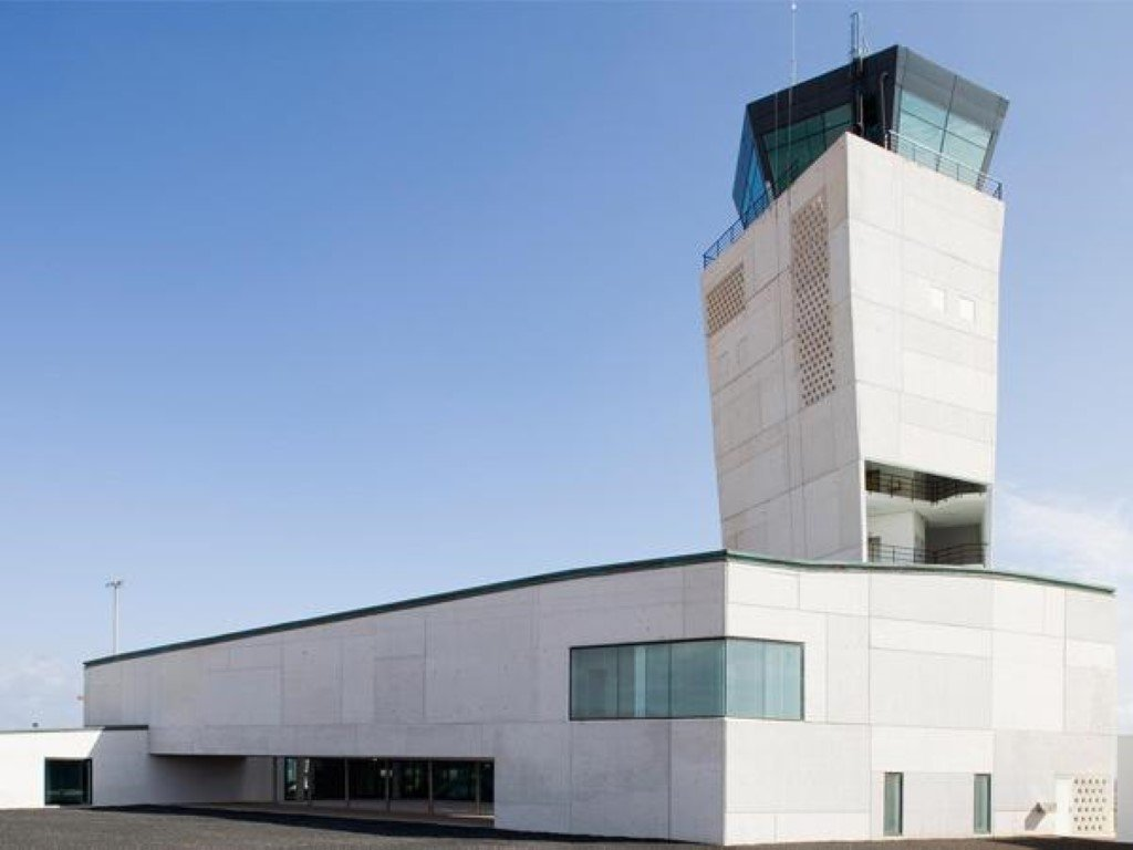 Control tower in Fuerteventura Airport 19950