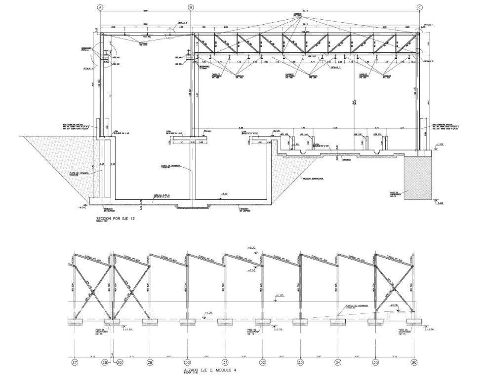 Warehouse for train maintenance 20258