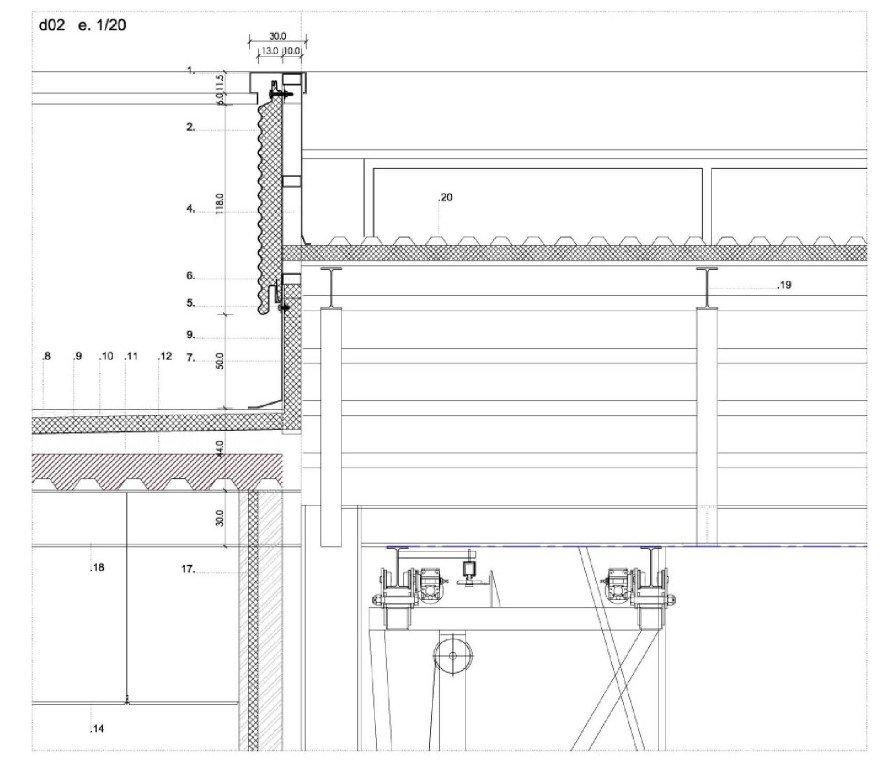 Warehouse for train maintenance 20260