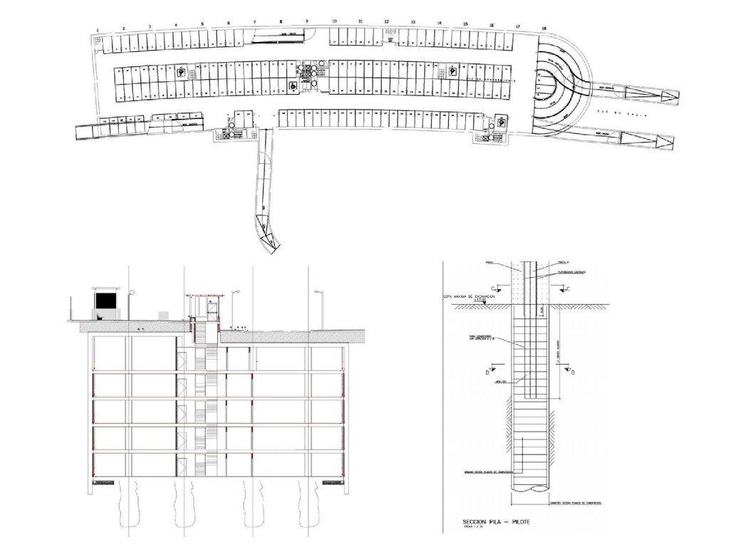 """""""Clarines II"""" underground parking 20314"""