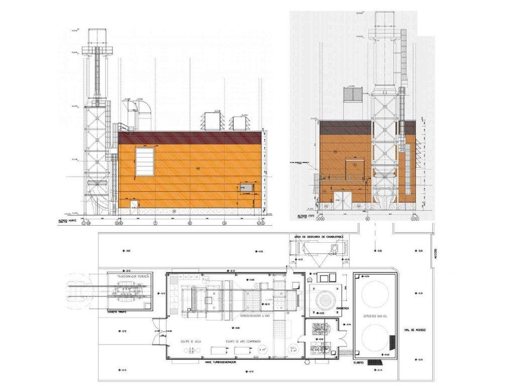 """""""CEUTA13"""" gas turbine building 20342"""