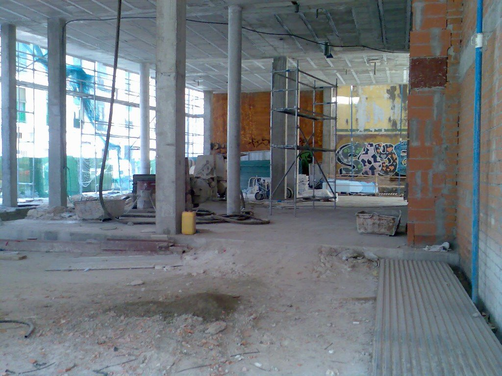Structural reinforcement for an apartment building 20580