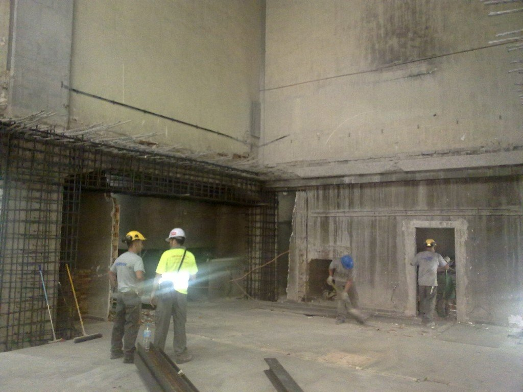 Remodeling of the electrical substation ST Argüelles 20954