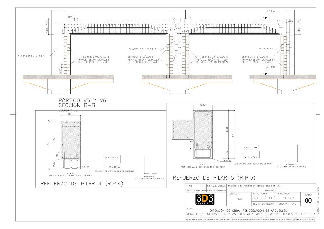 Remodeling of the electrical substation ST Argüelles 20958
