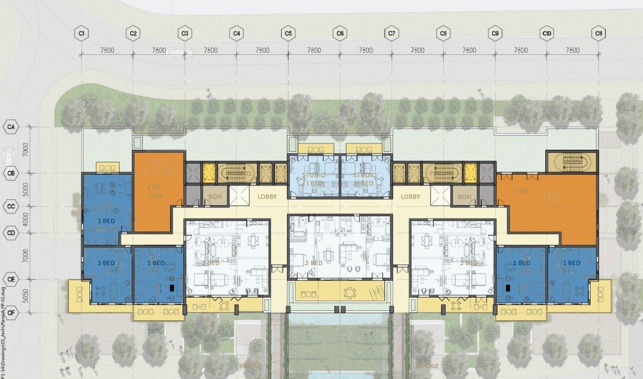BOQ for Porto Montenegro Buildings phase 2 & 3 21759